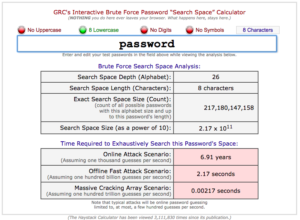 GRC Haystack Password